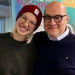 Stefanie Heinzmann mit Thomas Koschwitz