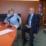 Thomas Koschwitz mit Angela Merkel