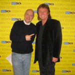 Thomas Koschwitz mit Chris Norman