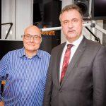 Thomas Koschwitz mit Claus Weselsky (GDL)