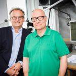 Thomas Koschwitz mit Frank Plasberg