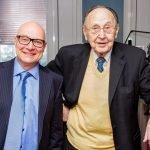 Thomas Koschwitz mit Hans Dietrich Gensche