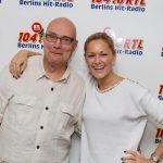 Thomas Koschwitz mit Helene Fischer
