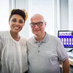 Thomas Koschwitz mit Imany