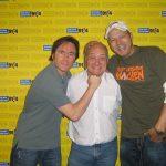 Thomas Koschwitz mit Mario Barth und Bully