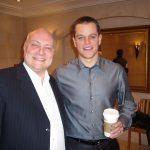 Thomas Koschwitz mit Matt Damon