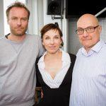 Thomas Koschwitz mit Meret Becker und Mark Waschke
