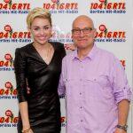Thomas Koschwitz mit Miley Cyrus