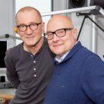Thomas Koschwitz mit Peter Lohmeyer