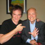 Thomas Koschwitz mit Quentin Tarantino