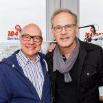 Thomas Koschwitz mit Reinhold Beckmann