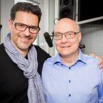 Thomas Koschwitz mit Rick Kavanian