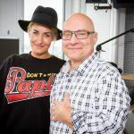 Thomas Koschwitz mit Sarah Connor Kopie