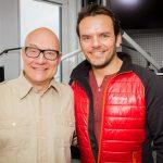 Thomas Koschwitz mit Steffen Henssler
