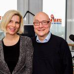 Thomas Koschwitz mit Ulrike Döpfner