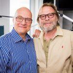 Thomas Koschwitz mit Volker Lechtenbrink Kopie